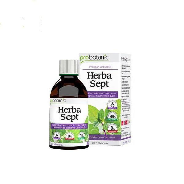 Herba sept antiseptik rastvor Probotanic 230ml