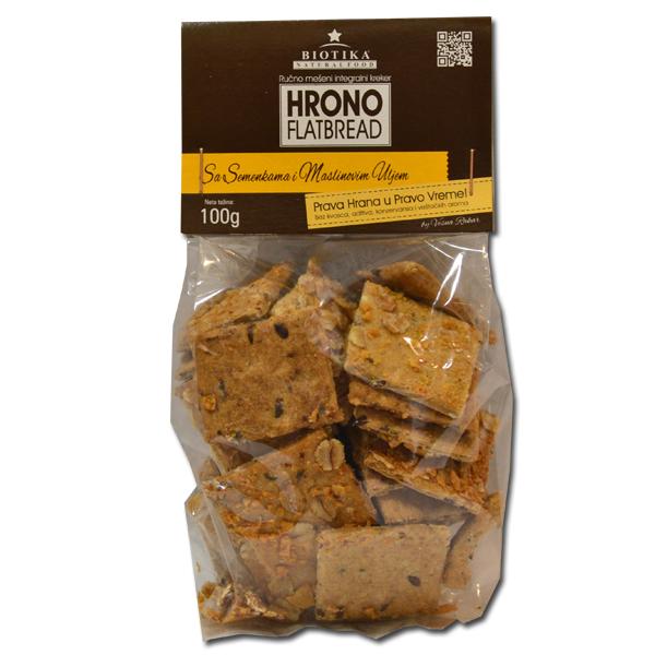 Hrono slani krekeri sa maslinovim uljem Biotika 100g