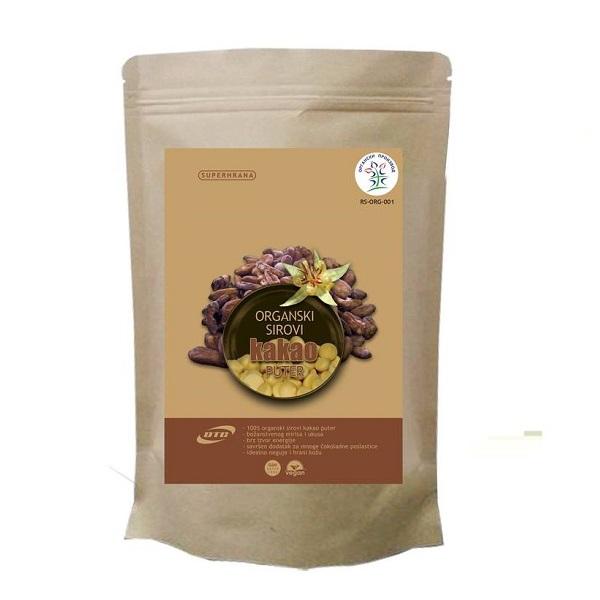 Kakao puter sirovi organski DTC 200g
