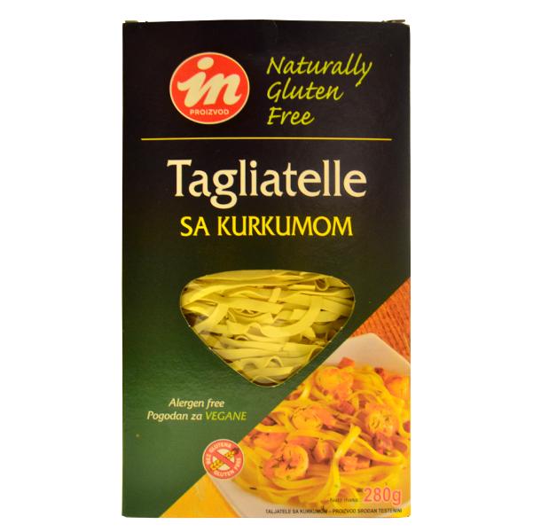 Taljatele sa kurkumom bez glutena In proizvod 280g