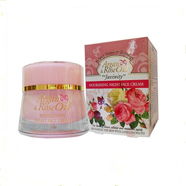 Argan & Rose oil hranljiva noćna krema 50ml