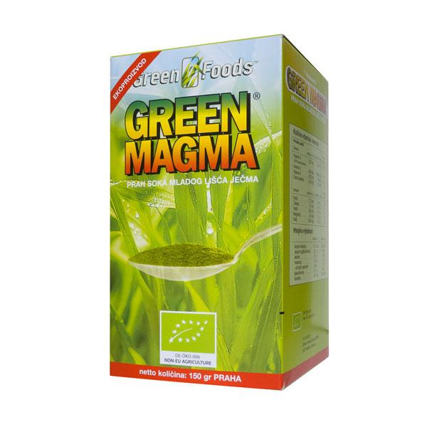 Zelena magma u prahu organic 80g