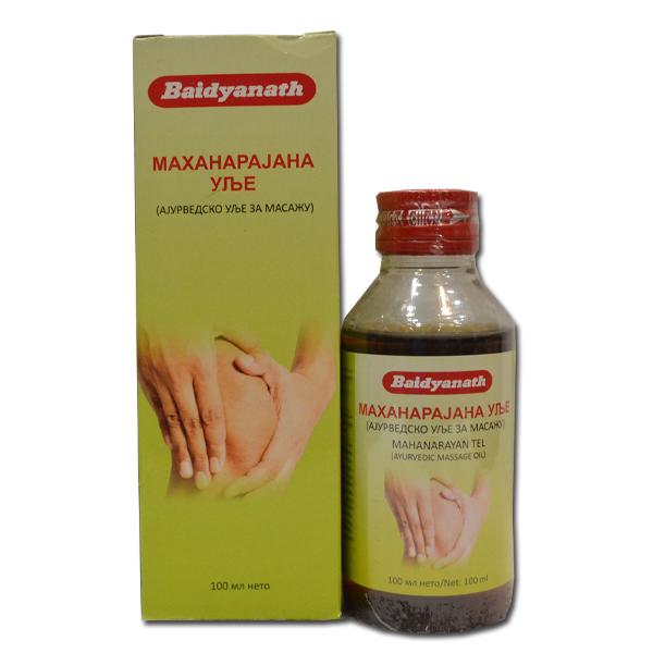 Ajurvedsko ulje za masažu Mahanarajana 100ml