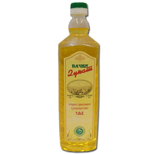 Hladno presovano suncokretovo ulje Bački Dukat 1l