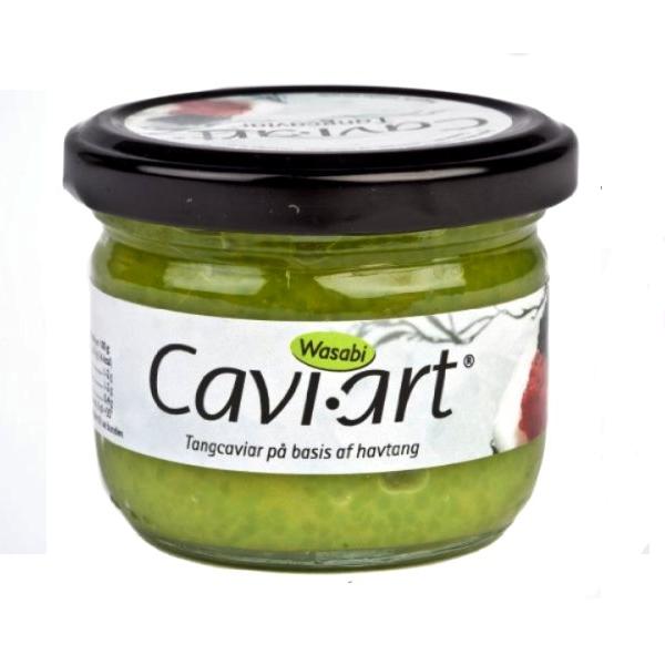 Kavijar na bazi morskih algi wasabi Cavi-Art 100g