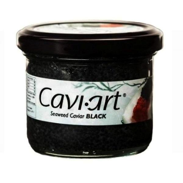 Kavijar na bazi morskih algi crni Cavi-Art 100g