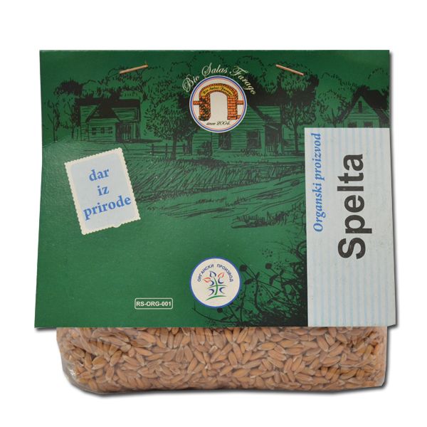 Spelta 500g organski proizvod  Bio salaš Farago