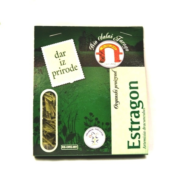 Estragon 12g organski proizvod Bio salaš Farago