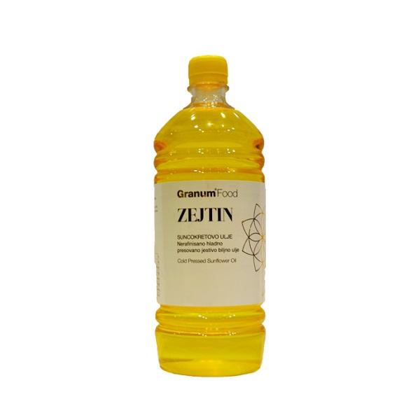 Zejtin-Suncokretovo hladno presovano ulje Granum 1l