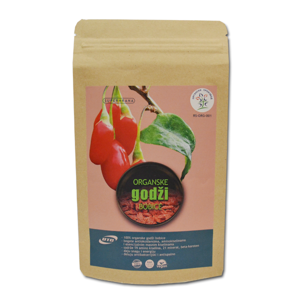 Godži bobice organic DTC 100g