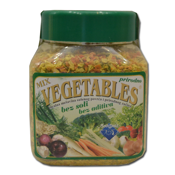 Vegetables mix 300g