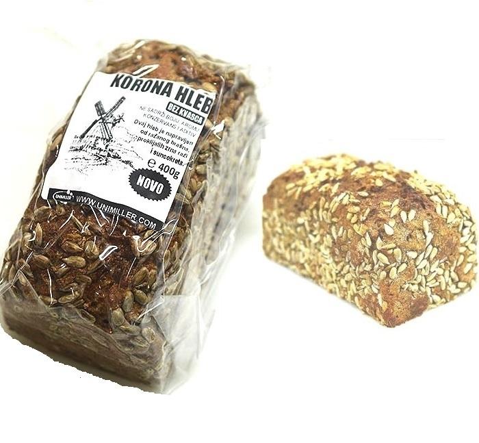 Korona hleb Unimiller 400g