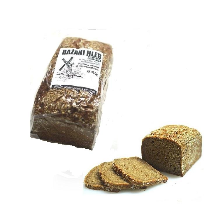 Ražani hleb Unimiller 350g