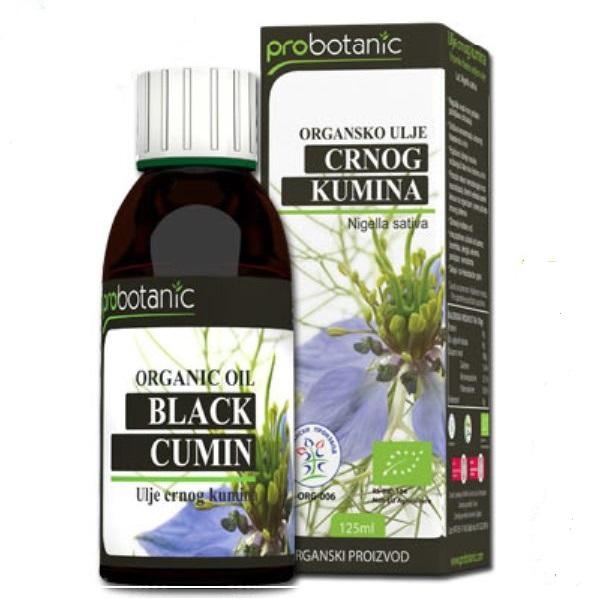 Ulje crnog kumina organic Probotanic 125ml