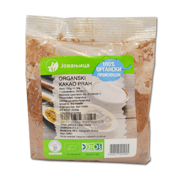 Kakao u prahu organic Jovanjica 150g