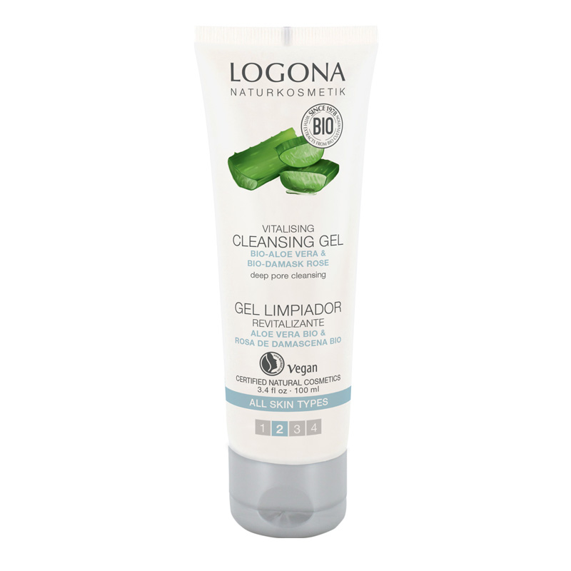 Logona vitalizirajući gel za čišćenje 100ml