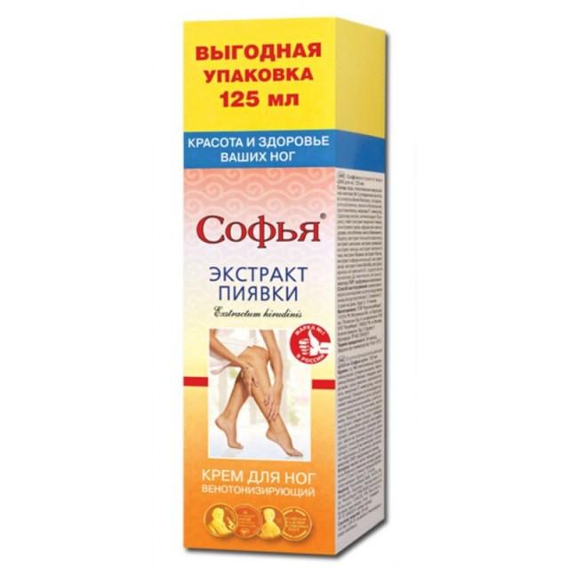 Sofia krema za noge sa ekstraktom medicinske pijavice 125ml