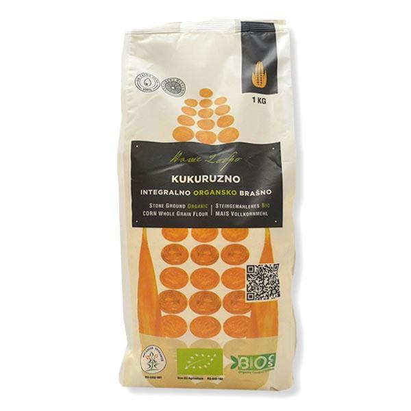 Organsko integralno kukuruzno brašno Naše dobro 1kg