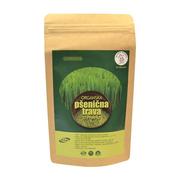 Pšenična trava u prahu organic DTC 100g