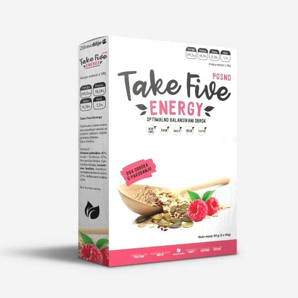 Take five Energy superfood obrok  Zdravo bilje 2x45g