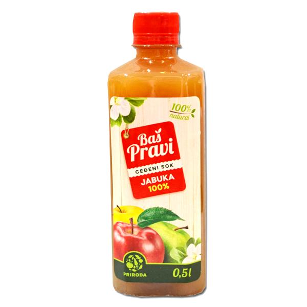 Pravi sok od jabuke 500ml
