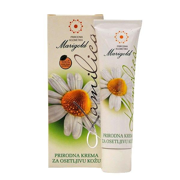Marigold Prirodna Krema za osetljivu kožu Kamilica 30g