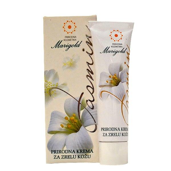 Marigold Jasmin prirodna krema za zrelu kožu 30g