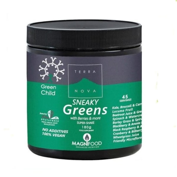 Terranova  Sneaky greens  skriveno povrće za decu 180g