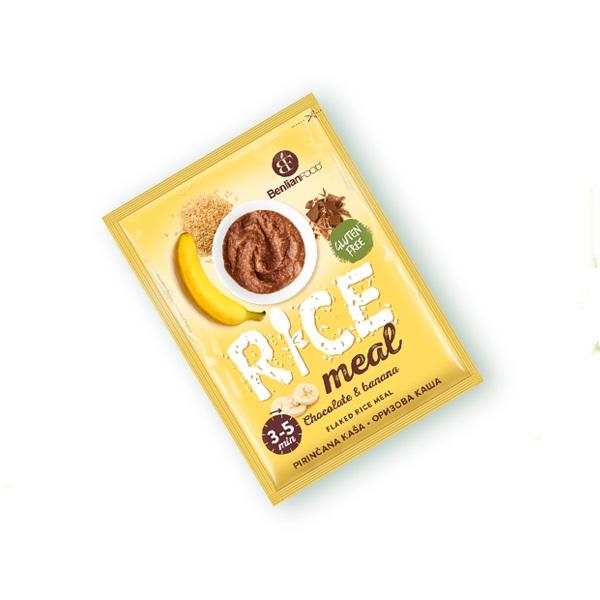 Pirinčana kaša čokolada i banana Benlian foods 60g