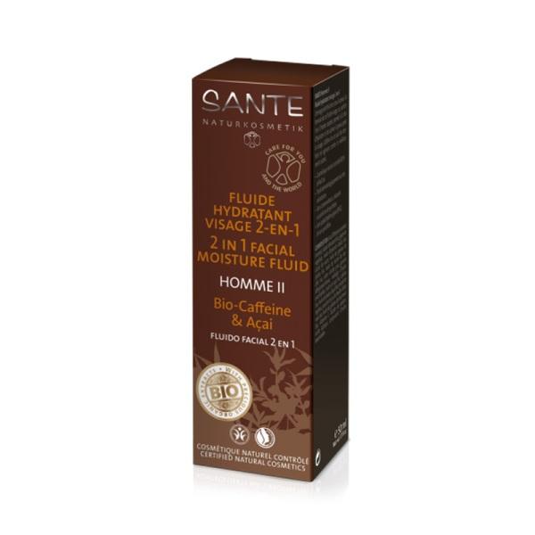 Sante Homme 2 u 1 Tečna krema bio kofein  50ml