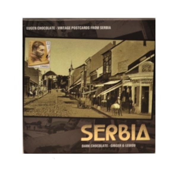 Eugen čokolada razglednica iz Srbije - Stara Srbija 75g