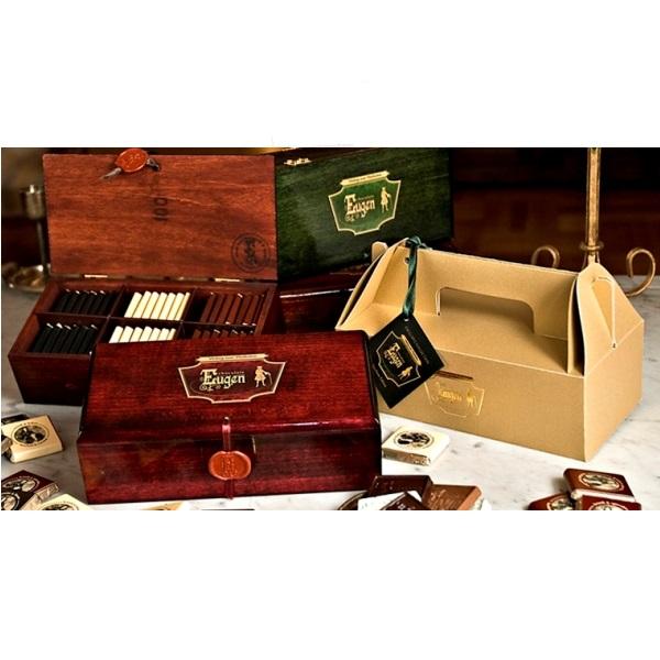 Eugen čokolade u drvenoj kutiji Absolute Edition 400 g