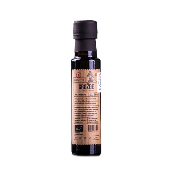 Organsko ulje grožđa Biosativa 100ml
