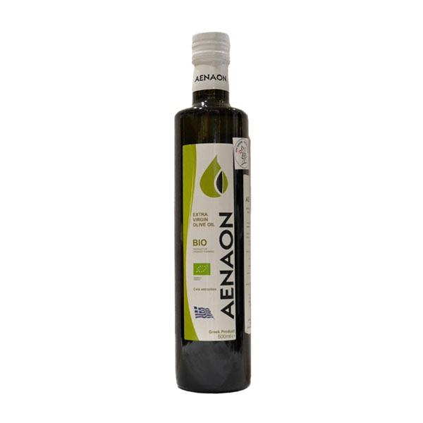 Organik maslinovo ulje ekstra devičansko Aenaon 500ml