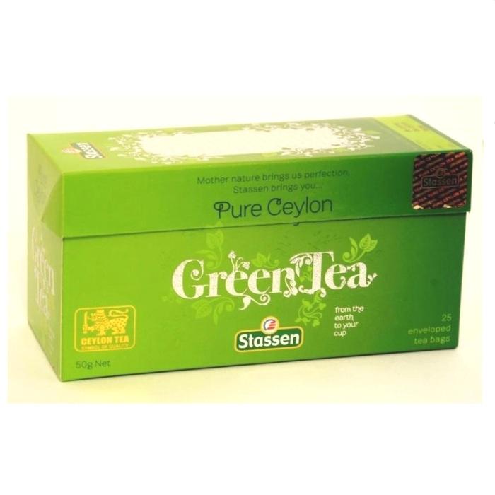 Stassen Čist Cejlonski zeleni čaj 50g