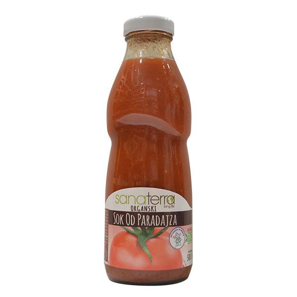 Organski sok od paradajza Sanaterra 500ml