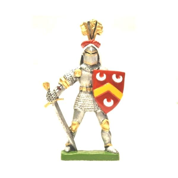 Metalna figura u boji vitez Vojnović