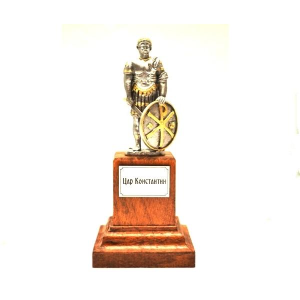 Metalna figura  Car Konstantin