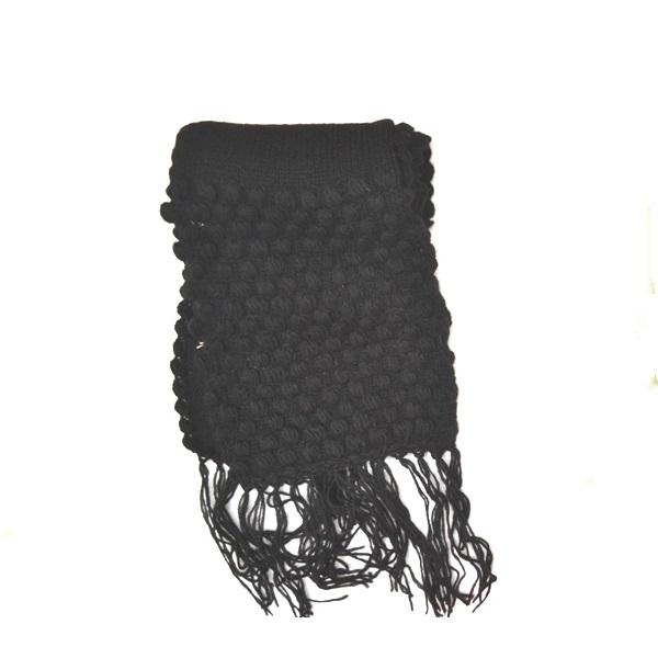 Šal - Pleteni crni