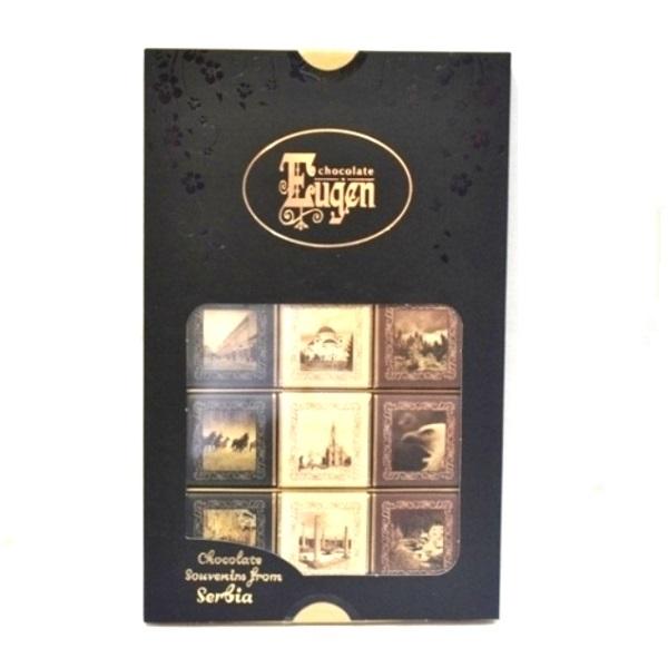 Čokolada suvenir iz Srbije Eugen 300 g 30x10 g