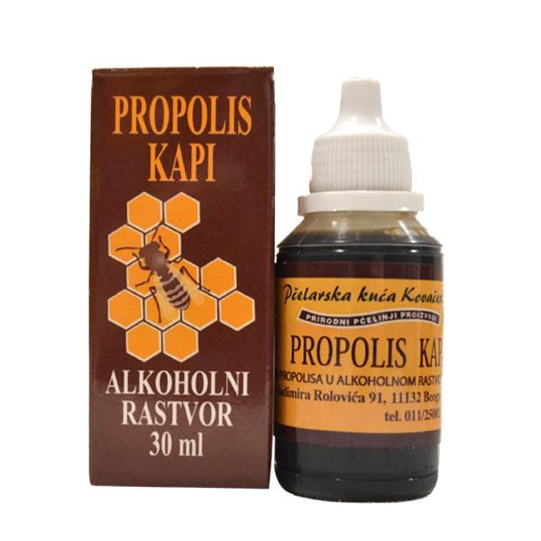 Propolis kapi u alkoholu 30ml Kovačević