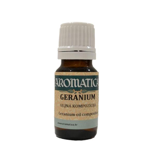 Aromatica Eterično ulje Geranijum 10ml