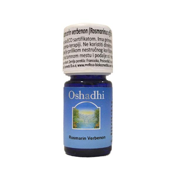 Oshadhi eterično ulje Ruzmarin verbenon 5ml