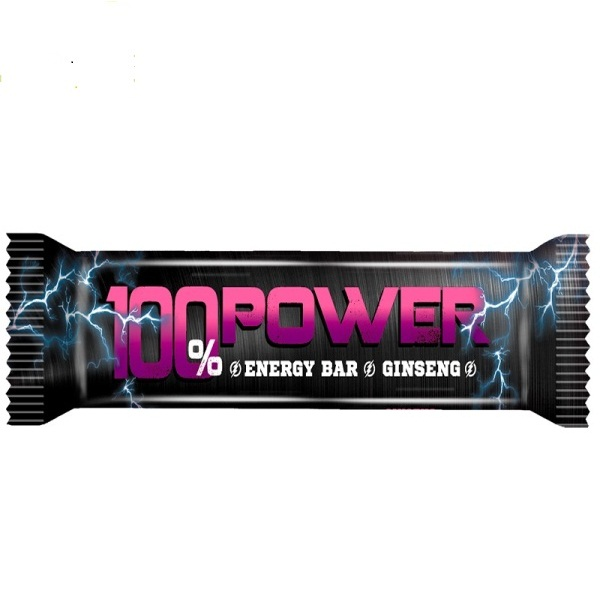 Energetski bar sa žen šenom 100% Power 40g