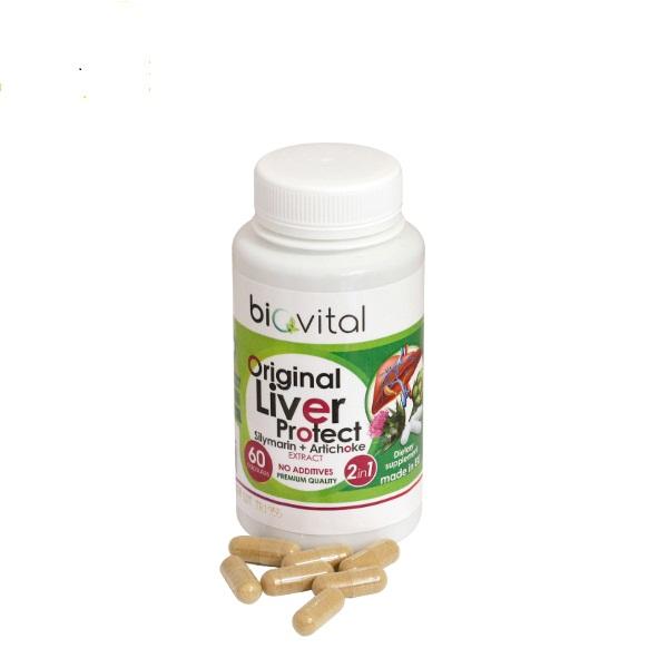 Liver protect Biovital 60 kapsula