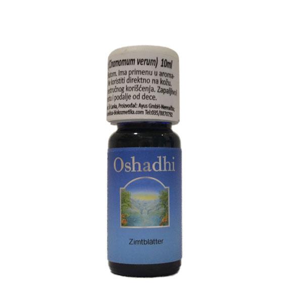 Oshadhi Eterično ulje Cimetovac list  10ml
