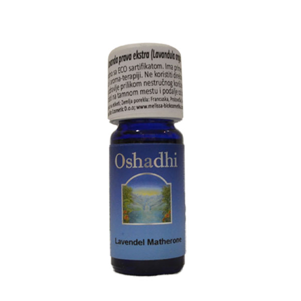 Oshadhi Eterično ulje Lavanda prava10ml