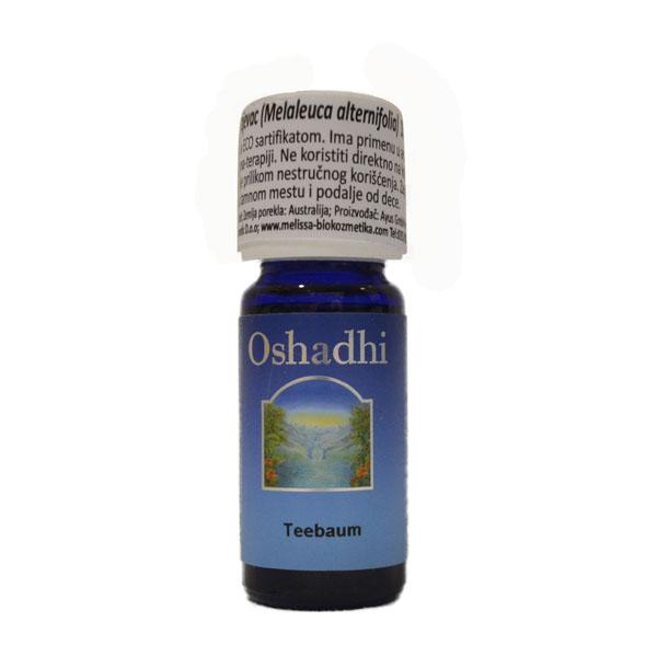Oshadhi Eterično ulje Čajno drvo 10ml