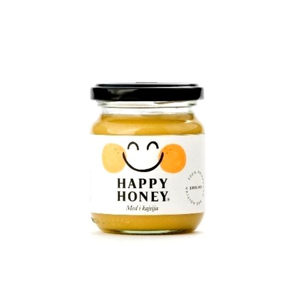 Med i kajsija Happy honey 250g