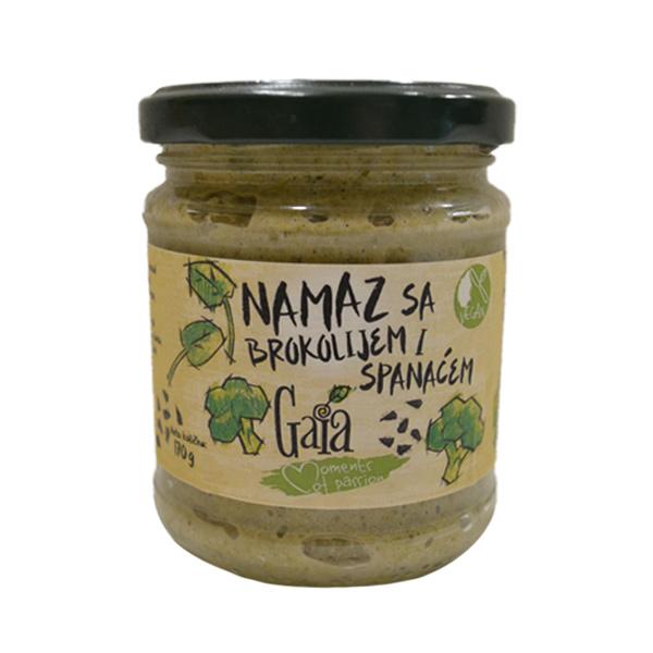 Namaz sa brokolijem i spanaćem vegan Gaia 170g